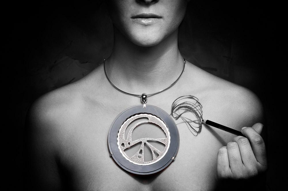 Lo Spirografo della collezione EdonismiNew Energy Ring della collezione Edonismi