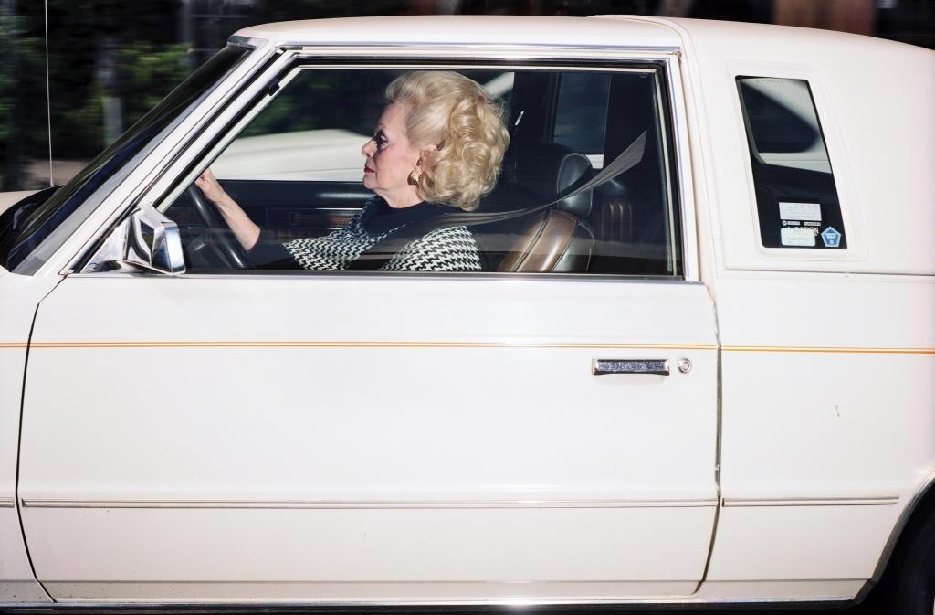 16) Woman driving south at 38 mph on La Cienaga Boulevard ne