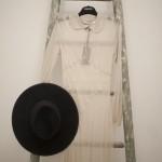 1. Abito e cappello Ludovica Amati